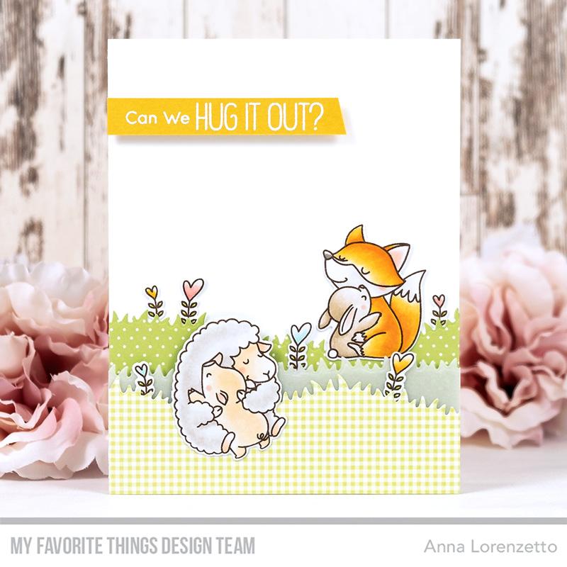 AL handmade - My Favorite Things DT - WSC 533 - BB Hug It Out stamp set and Die-namics