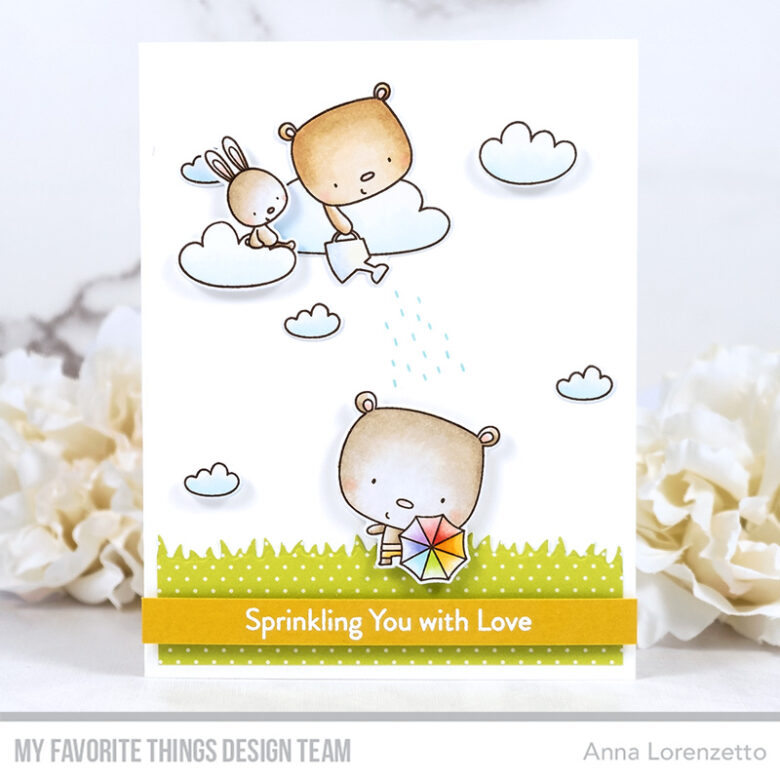 AL handmade - My Favorite Things - Sprinkling You with Love stamp set and Die-namics
