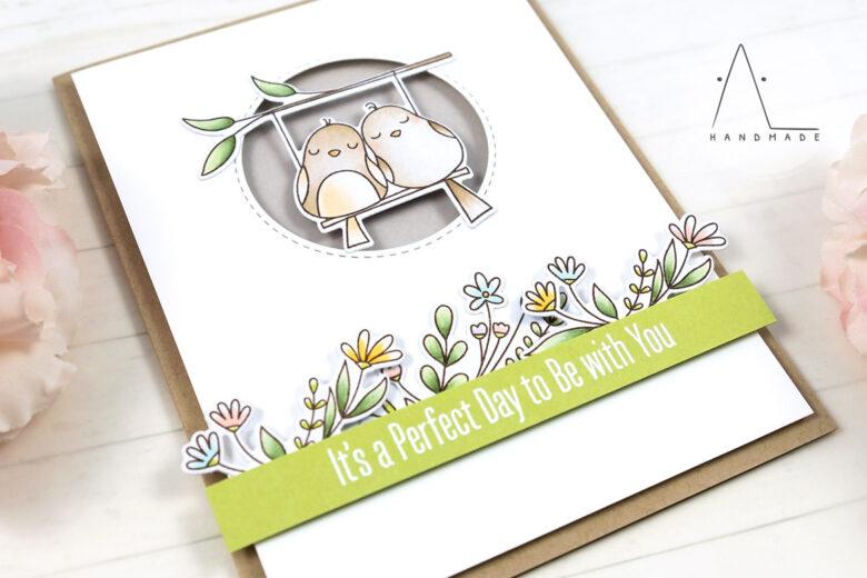 AL handmade - My Favorite Things - Tweet Memories stamp set and Die-namics
