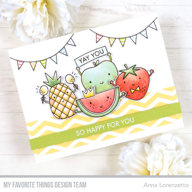 AL handmade - My Favorite Things - Bunch of Happiness stamp set and Die-namics