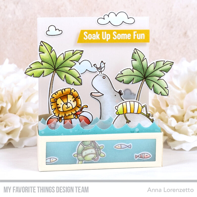 AL handmade - My Favorite Things - Swimming Hole Friends stamp set and Die-namics