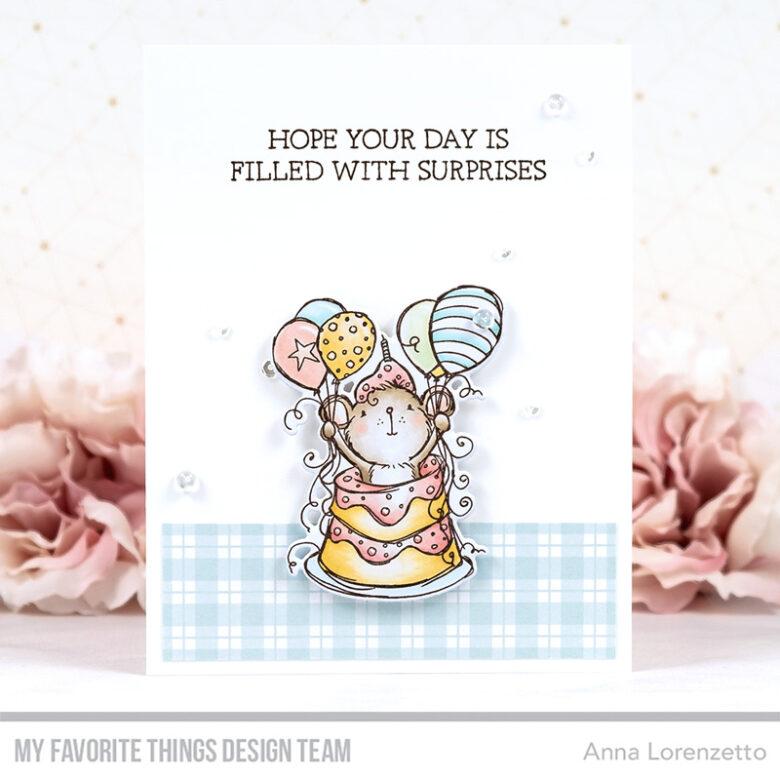 AL handmade - My Favorite Things - RAM Sweet Surprise stamp set and Die-namics