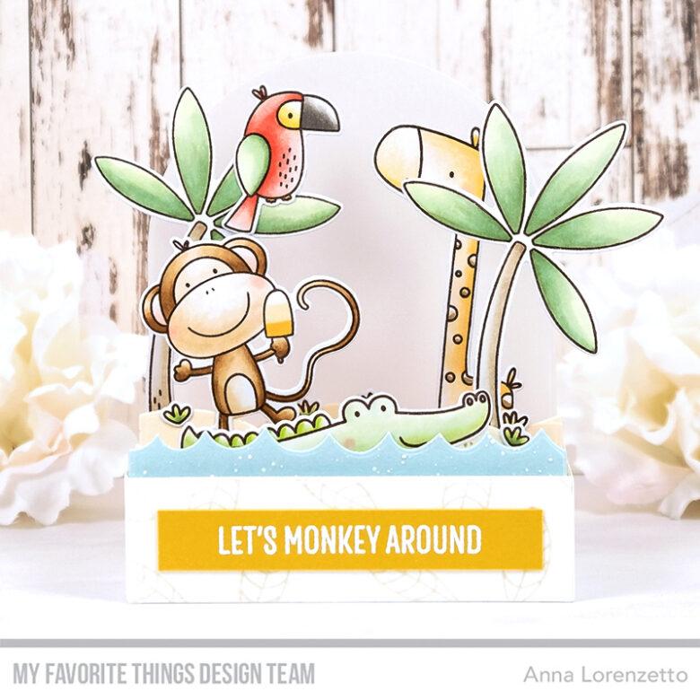 AL handmade - My Favorite Things - Summer Safari stamp set and Die-namics