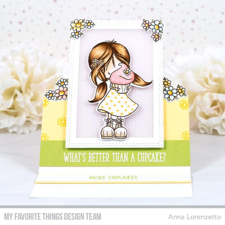 AL handmade - My Favorite Things - TI Cupcake Cutie stamp set and Die-namics