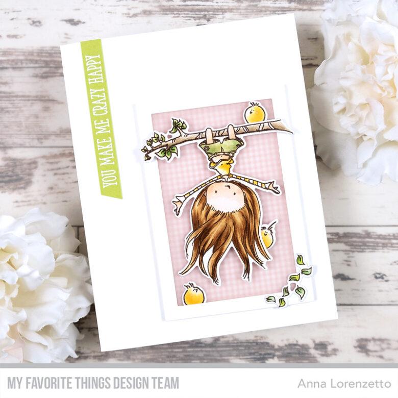 AL handmade - My Favorite Things - TI Let Your Hair Down stamp set and Die-namics