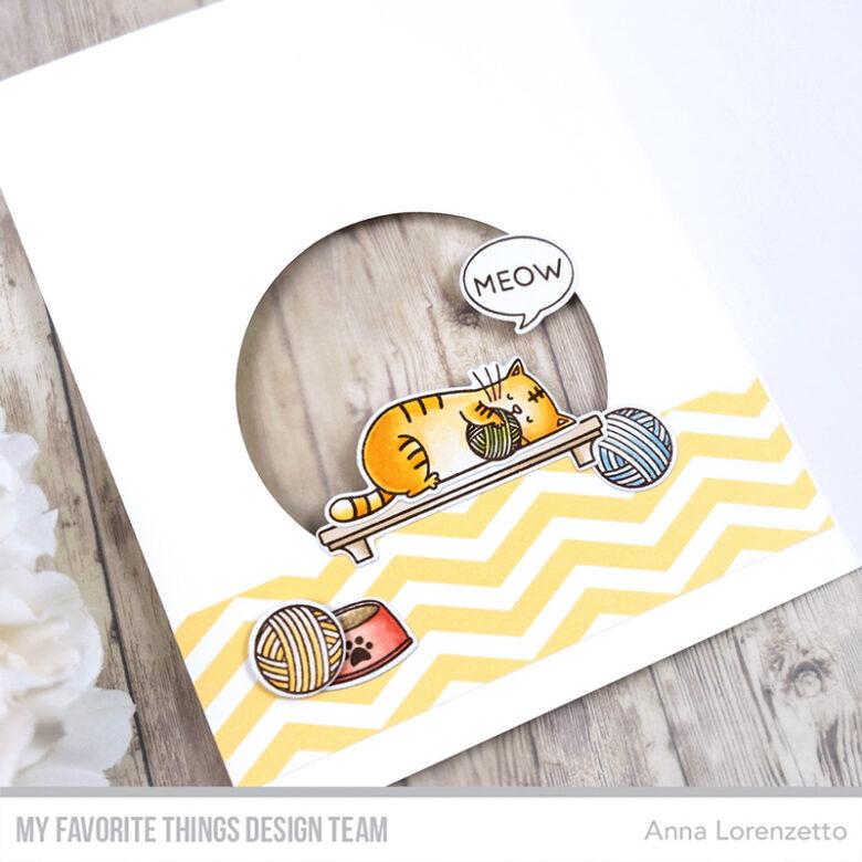 AL handmade - My Favorite Things - BB I Knead You stamp set and Die-namics