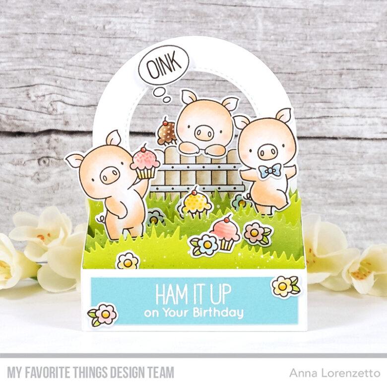 AL handmade - My Favorite Things - BB Hog Heaven stamp set and Die-namics