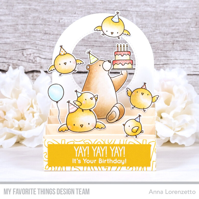 AL handmade - My Favorite Things DT - Outside the Box - BB Birthday Chicks and BB Birthday Bears