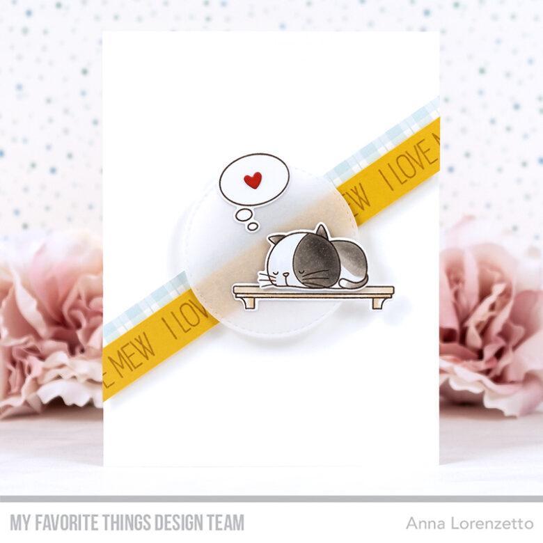 AL handmade - My Favorite Things DT - WSC 549 - BB I Knead You stamp set and Die-namics