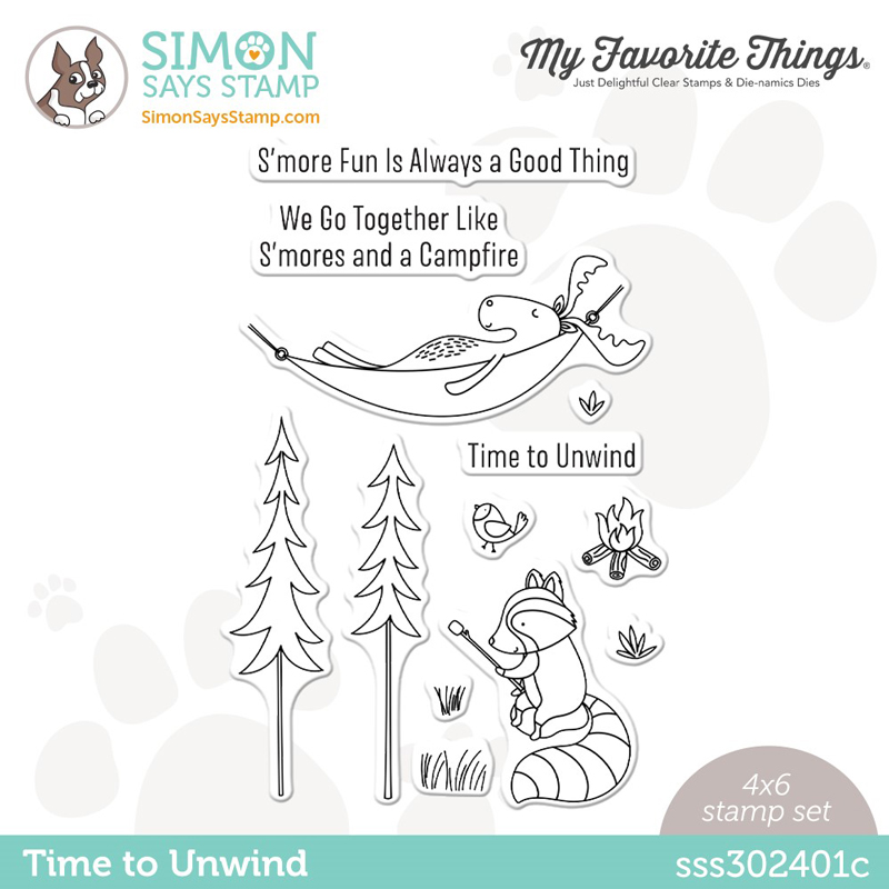 Simon Says Stamp STAMPtember® 2021 - My Favorite Things Time To Unwind